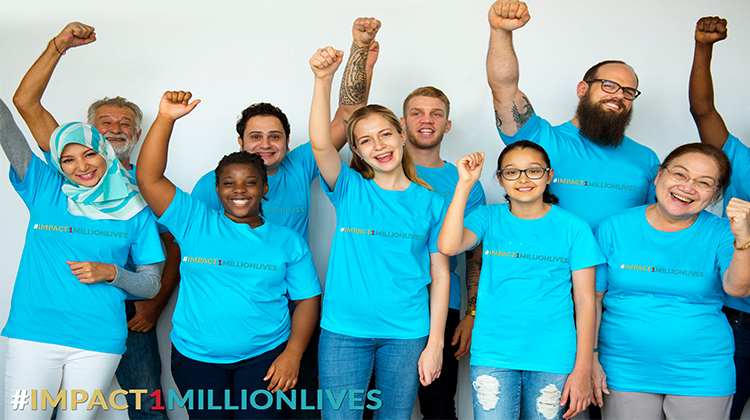 Impact 1 Million Lives #impact1millionlives
